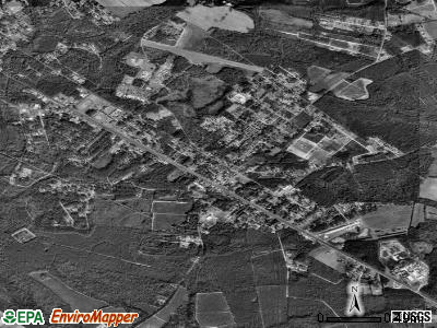 Varnville satellite photo by USGS