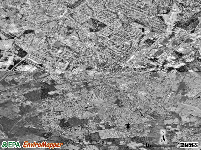 Manassas satellite photo by USGS