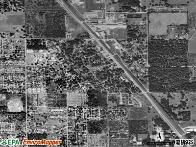 Highland City satellite photo by USGS