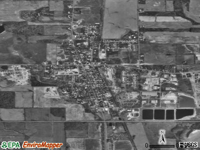 Avilla satellite photo by USGS