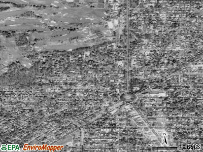 Chevy Chase Village satellite photo by USGS