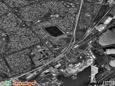 Tullytown satellite photo by USGS