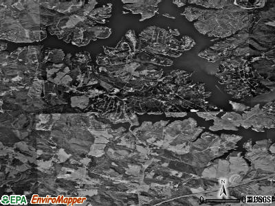 Gumlog satellite photo by USGS