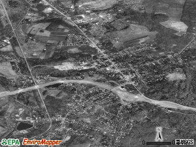 Hopwood satellite photo by USGS