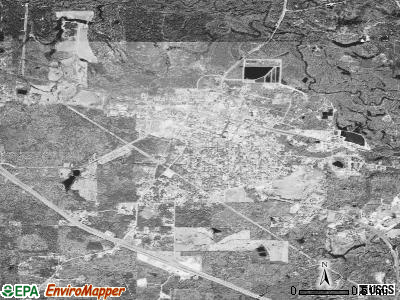 Smackover satellite photo by USGS