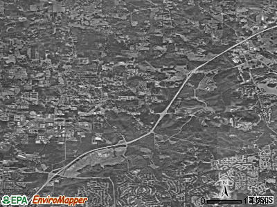 Alpharetta satellite photo by USGS