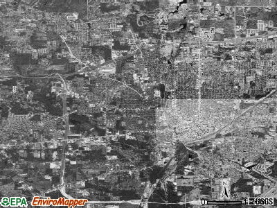 Texarkana satellite photo by USGS