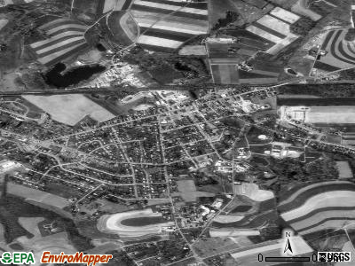 Quarryville satellite photo by USGS