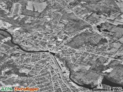Berwick satellite photo by USGS