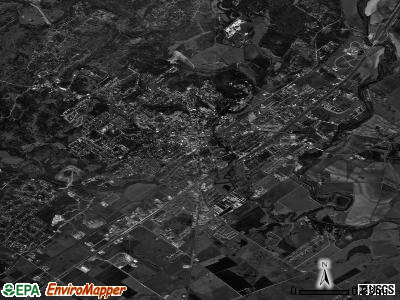 Elk Grove Village satellite photo by USGS