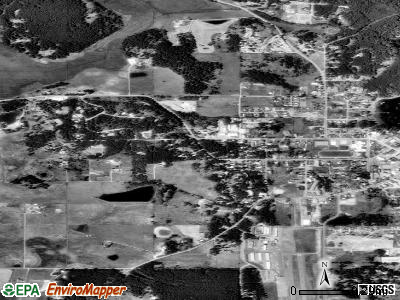 Friday Harbor satellite photo by USGS