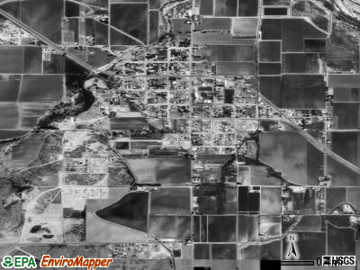 Pima satellite photo by USGS