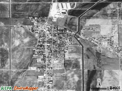 Leachville satellite photo by USGS