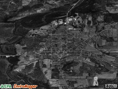 Frewsburg satellite photo by USGS
