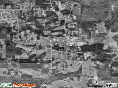 New Hope satellite photo by USGS