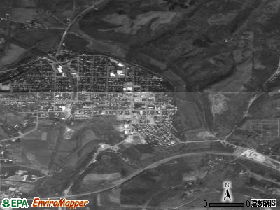 Caldwell satellite photo by USGS