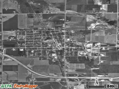 Abbotsford satellite photo by USGS