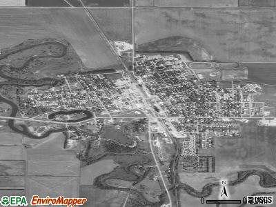 Mayville satellite photo by USGS