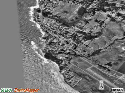 Moss Beach satellite photo by USGS
