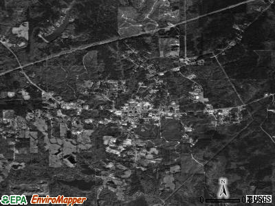 Butler satellite photo by USGS