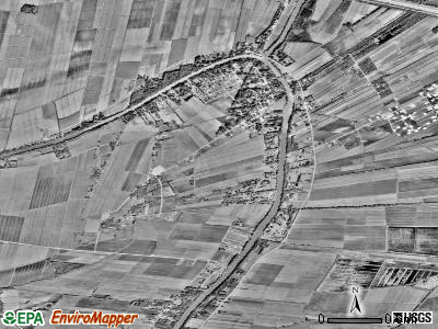 Charenton satellite photo by USGS