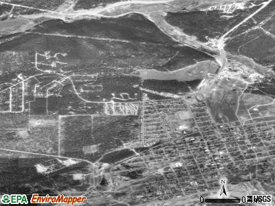 Leadville North satellite photo by USGS