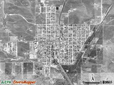 Stinnett satellite photo by USGS