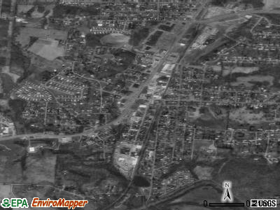 South Zanesville satellite photo by USGS