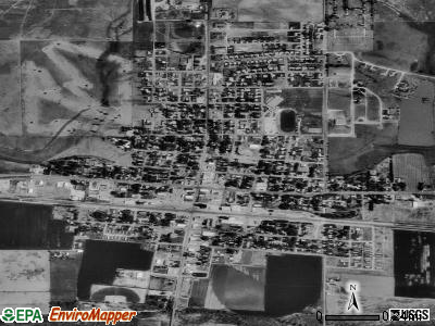 Cimarron satellite photo by USGS