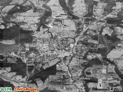 Huntsville satellite photo by USGS