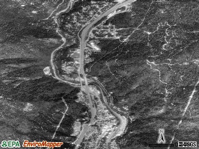 Dunsmuir satellite photo by USGS