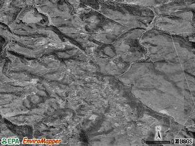 Coal City satellite photo by USGS
