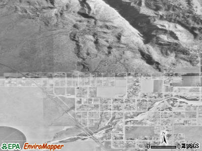 Hildale satellite photo by USGS