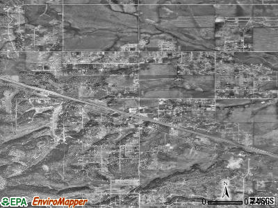 Edgewood satellite photo by USGS