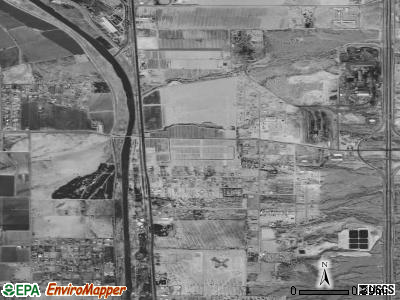 Vinton satellite photo by USGS