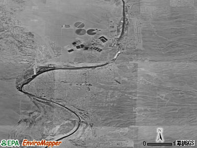 Bullhead City satellite photo by USGS