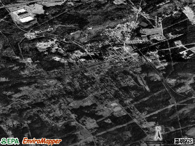 Blacksburg satellite photo by USGS