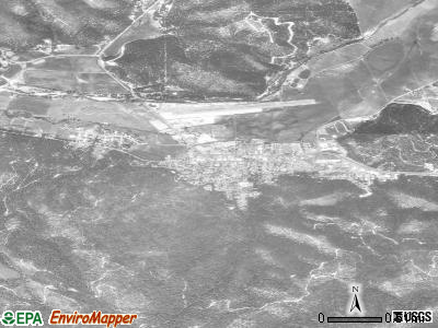 Quincy satellite photo by USGS