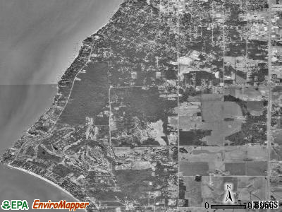 Point Clear satellite photo by USGS