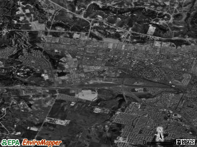 Fort Hood satellite photo by USGS