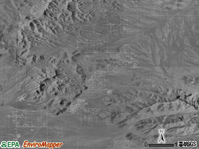 Dolan Springs satellite photo by USGS