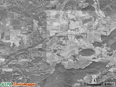 New Market satellite photo by USGS