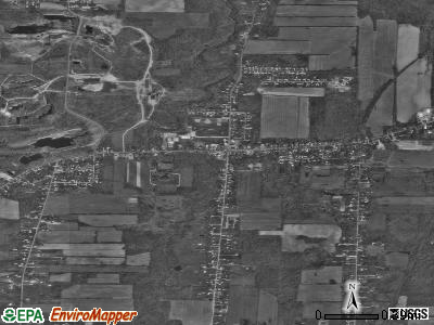 South Amherst satellite photo by USGS