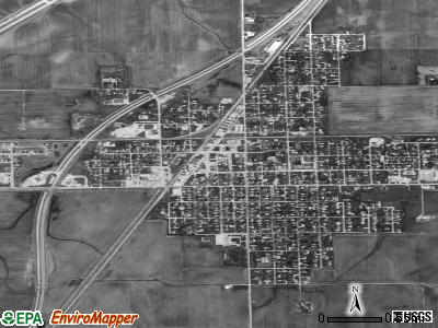 Bondurant satellite photo by USGS