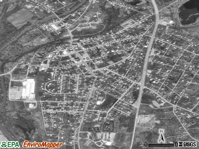 Homer City satellite photo by USGS
