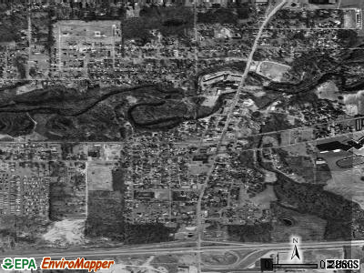 Watervliet satellite photo by USGS