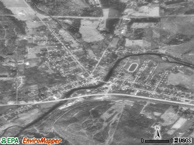 Youngsville satellite photo by USGS