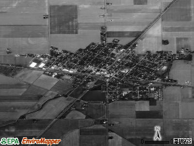 Deshler satellite photo by USGS