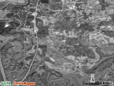 Morris satellite photo by USGS
