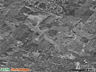 Hopewell satellite photo by USGS